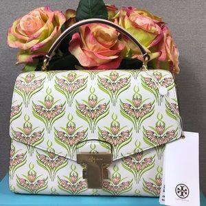 Tory Birch Meridian Julietta Floral Bag